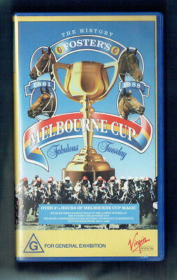 #vv10.  Vhs  Video Tape -  Melbourne Cup History  1861-1988