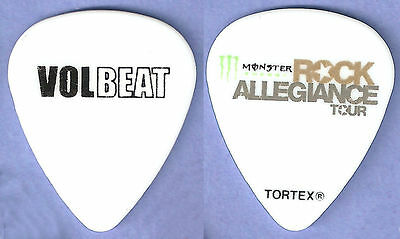 VOLBEAT--MIKE POULSEN--ROB CAGGIANO 2014 Tour GUITAR PICK! Anthrax!