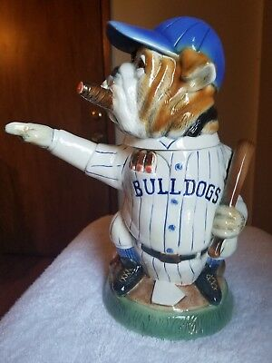 Baseball Bulldog  Limited Edition Figural Figure Collectible Beer Stein  #6655