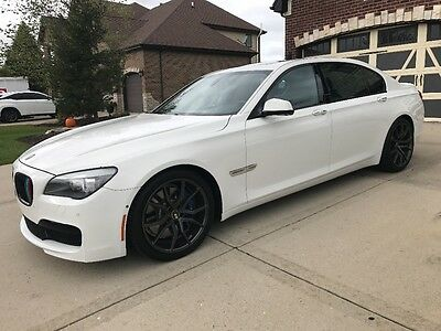 2011 BMW 7-Series M package 2011 BMW 750li M alpine white with black low miles great condition NO RESERVE