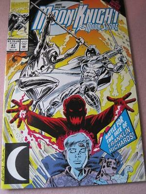 MOON KNIGHT Marvel Comics vs MOON SHADE Vol 1 No. 41  Aug. 1992 NM