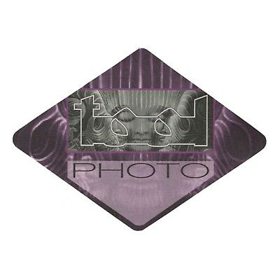 Tool Authentic 2002 Lateralus Tour satin cloth Backstage Pass band photo