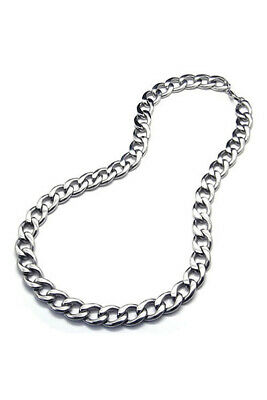 Jewelry Men's necklace, Stainless steel large gravity king motorcycle chain X3B9
