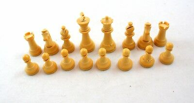 Sensory Chess Challenger Complete Set of Pieces Only NO BOARD