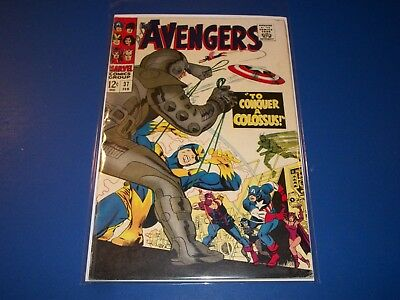 Avengers #37 Silver Age Book  Goliath Quicksilver Scarlet Witch VG+