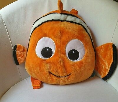 Rare Disney Finding Nemo Plush Backpack