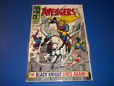 Avengers #48 Silver Age Black Knight Wow VG-