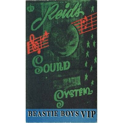 Beastie Boys authentic VIP 1995 tour Backstage Pass