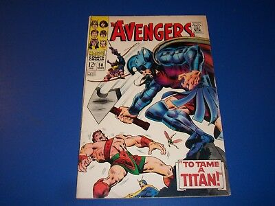 Avengers #50 Silver Age Hercules Solid VG+ Wow Scarlet Witch
