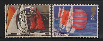 UNITED KINGDOM UK USED STAMPS BOAT     a13.8.6