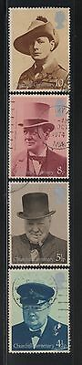 UNITED KINGDOM UK USED STAMPS CHURCHILL CENTENARY     a13.8.3