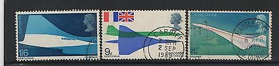 UNITED KINGDOM UK USED STAMPS CONCORDE 1969   a13.7.2