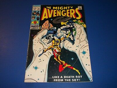 Avengers #64 Silver Age Vision Wow VG-/VG