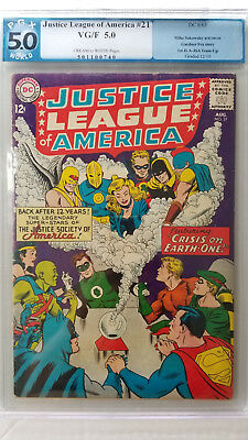 Justice League of America #21 PGX 5.0 VG/F 1st Silver Age Appearance JSA