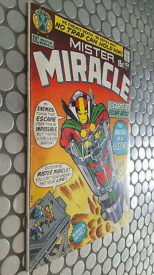 Dc Mister Miracle Key #1!  Ist Appearance Jack Kirby Amazing Classic Cover F/vf