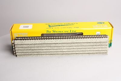"S-Helper 00257 S Gauge Straight Track 15"" (6 Sections) NIB"
