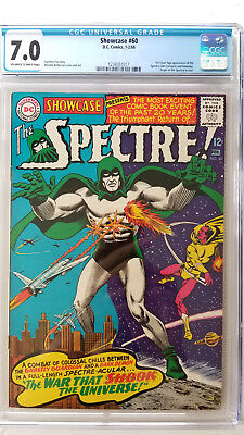 Showcase #60 CGC 7.0 F/VF   1st Silver Age Appearance Spectre