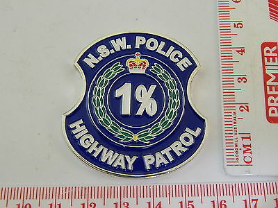 NSW Police Highway Patrol Challenge Coin