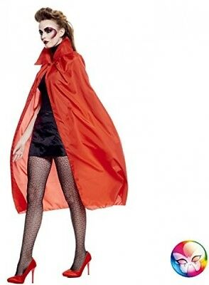 FAC And Ndash; Adult Cape With Red Collar And Ndash; Red Aq01803/120 Cm