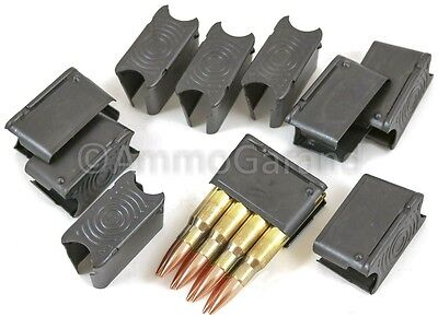 (50ea) M1 Garand Clips 8rd ENBLOC -NEW- made in US by Govt Contr 30-06 & 308 use