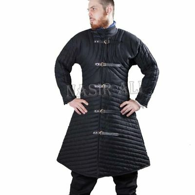 Medieval Gambeson Cloth Type 3 Padded Armour LARP SCA WMA Arming Jacket Y4R52J