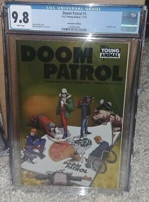 Doom Patrol #1 CGC 9.8 NYCC Convention Edition Foil Cover