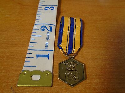 Vintage United States Air Force Commendation Mini Military Medal #1328