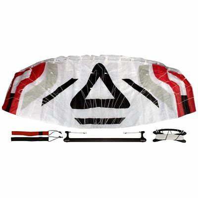 Airow Parafoil Kite Space 200 incl. Bar White/Black/Grey/Red 51VV Outdoor