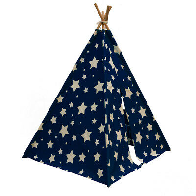 SUNNY Teepee Play Tent Kids Cosmo Glow in the Dark Blue and White C052.102.01