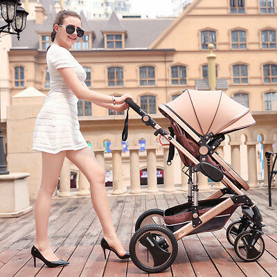 8 in 1 Baby Stroller Pushchair Car Seat Foldable Portable Travel Carriage Infant