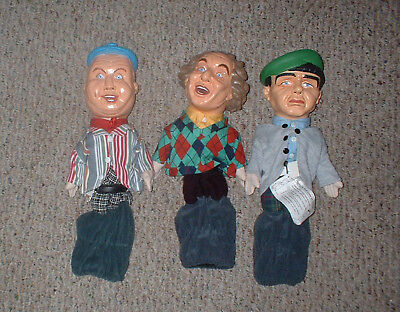The Three Stooges Talking Golf Club Covers: Curly, Larry & Moe