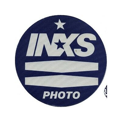 INXS authentic Photo 1997 tour Backstage Pass