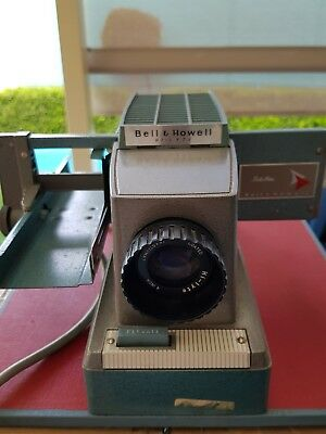 slide projector bell&howell