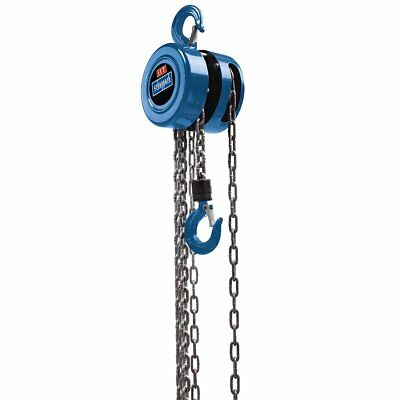 Scheppach Ton Chain Hoist Car Heavy Load Lifting Tool CB01 1000 kg 4907401000