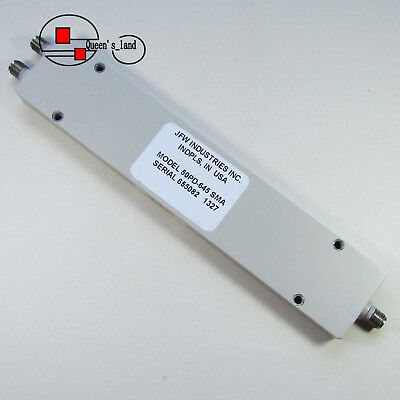 1×USED JFW 50PD-645 0.5-6GHz SMA RF 2-Way Power Divider Splitter / Combiner
