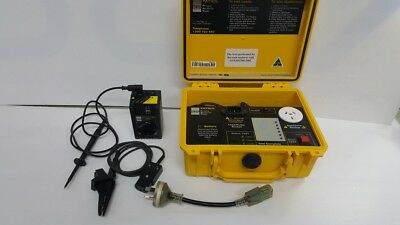 *Used* Aegis CZ5001 Portable Appliance Test & Tag Kit - Good Condition