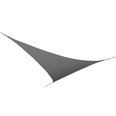 Bo-Garden Shade Cloth Awning Canopy Triangle Anthracite 3.6x3.6x3.6 m 4471441