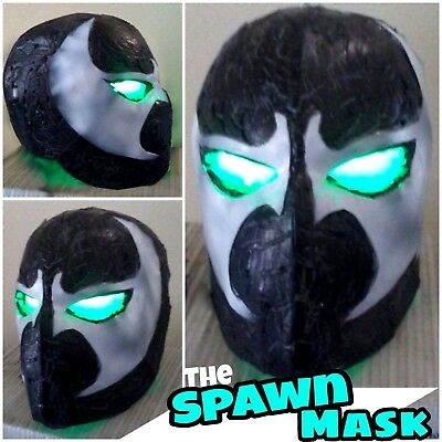 Image's Spawn Style color Halloween Cosplay Mask Full Helmet With LEDs