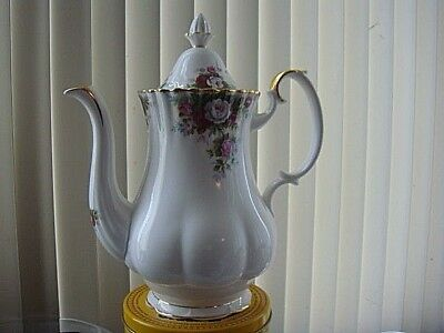 Royal Albert Celebration Large Teapot Pristine Condition never been used.t