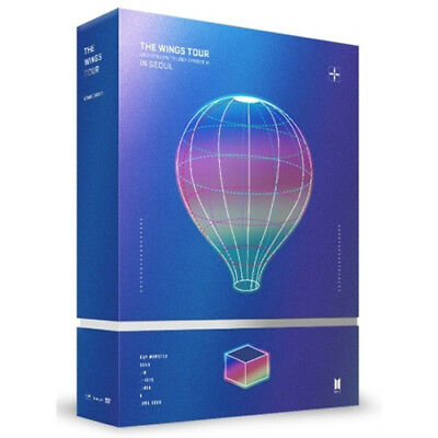 2017 BTS Live Trillogy Episode III The Wings Tour in Seoul Concert DVD+Poster