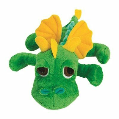 Suki Gifts Little Peepers Dragons Inferno Dragon Soft Boa Plush Toy (Green and Y
