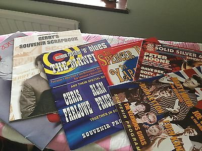 BARGAIN - Job Lot Of  Pop Concert Souviner Programmes