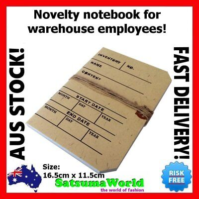 Warehouse Journal Travel Diary Girls Notebook vintage cahier hot stationery new