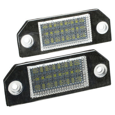 2 White 24 LED Number License Plate Lights Lamps Bulbs for Ford Focus 2 C-M U1B5