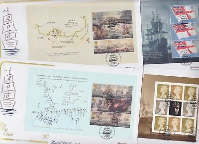Gb Stamps Prestige Book First Day Cover 2005 Trafalgar Cotswold Collection