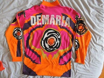 motocross vintage maillot YVES DEMARIA jt racing vintage oxbow vintage