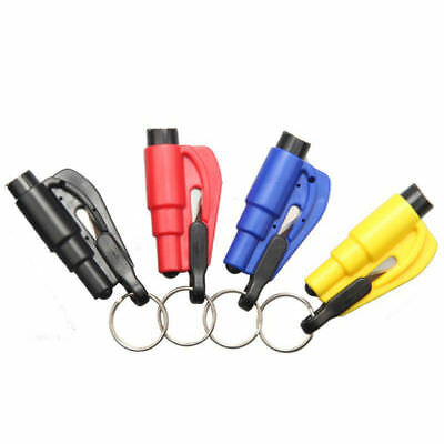 Mini Safety Hammer Auto Car Window Glass Breaker Seat Belt Cutt