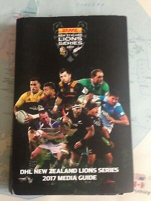 New Zealand provincial team media programme guide for 2017 British & Irish Lions