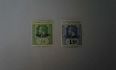 Cayman islands stamps 1918