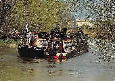 BR82219 ship bateaux traditional narrowboats kildare at stockton   ireland